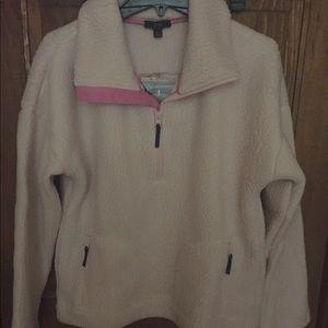 J crew Polar Fleece 1/2 zip Pullover